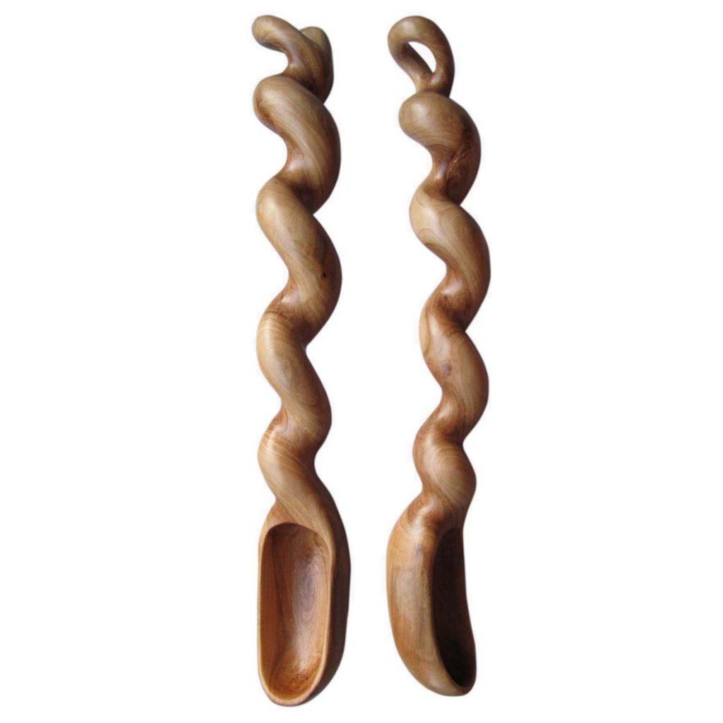 Šaukštai (obelis, 5 x 28 cm) | Adomo medis