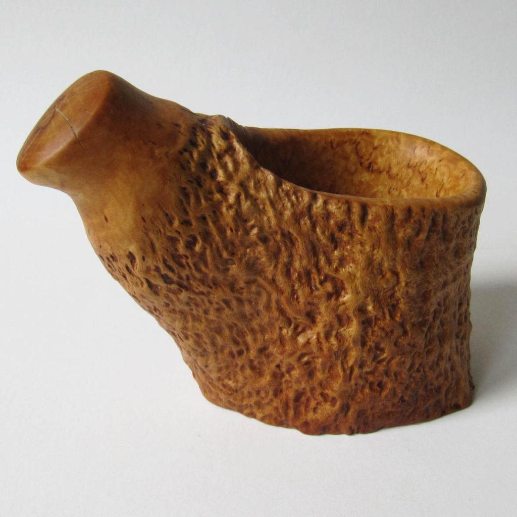 Puodelis (Karelijos beržas, 7 cm) | Adomo medis