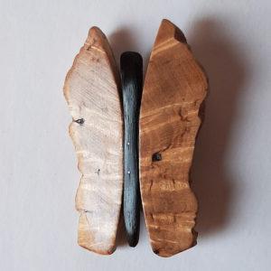Drugelis (Karelijos beržas, juodasis ąžuolas, 5 cm) | Adomo medis