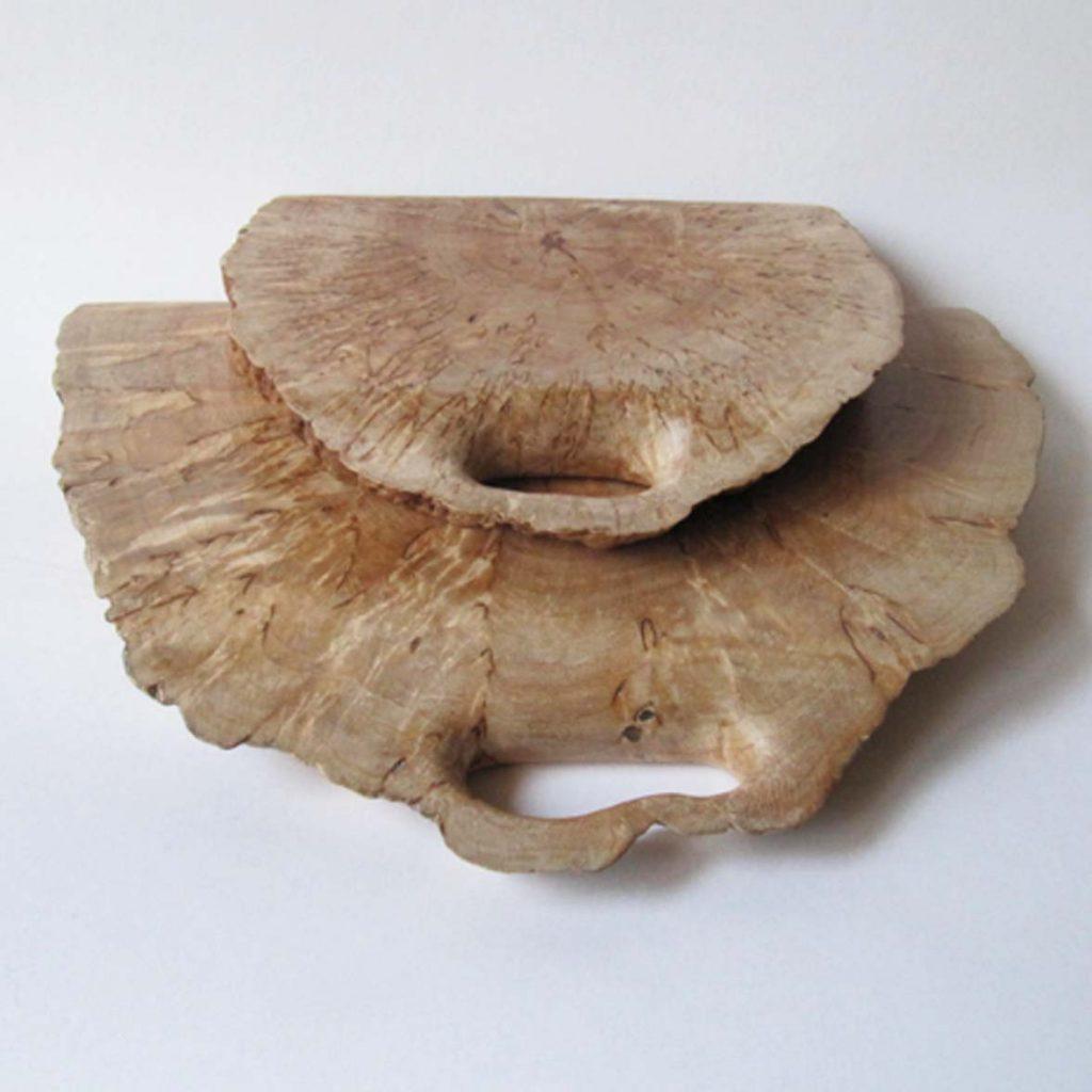 Padėklai (Karelijos beržas, 20 cm, 30 cm) | Adomo medis